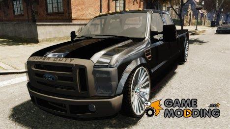 Ford F 350 Super Duty DUB 2010 для GTA 4