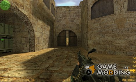 Schmung M249 On Flakk Animations для Counter-Strike 1.6