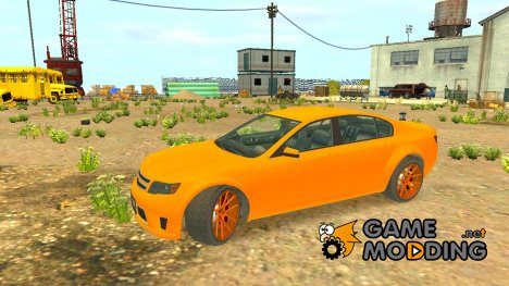 Cheval Fugitive new wheels из GTA 5 для GTA 4