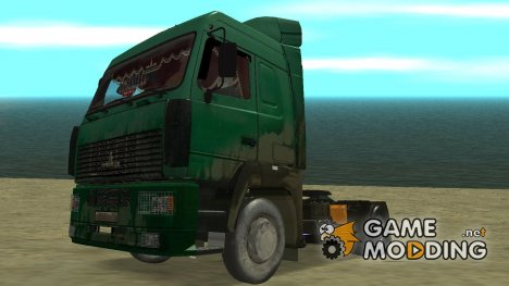 "МаЗ 5440 v.2 В ""Грязи"" для GTA San Andreas"