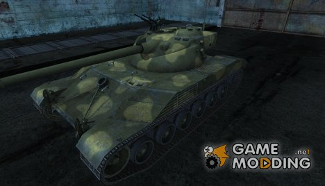 Шкурка для Bat Chatillon 25t №17 для World of Tanks