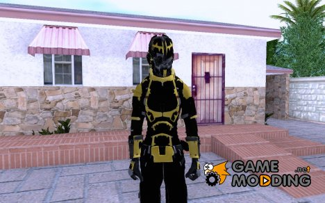 DS2 security female для GTA San Andreas