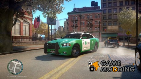 Carabineros de Chile Dodge Charger для GTA 4