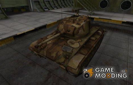 Американский танк M24 Chaffee for World of Tanks