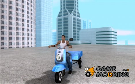 Мотороллер Муравей Турист-М for GTA San Andreas