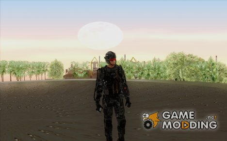 CoD Advanced Warfare ATLAS Soldier 2 для GTA San Andreas