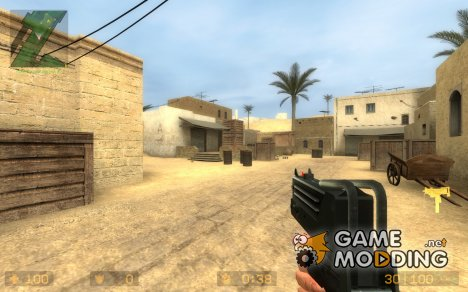 Headshot / Millenia MAC-10 for Counter-Strike Source