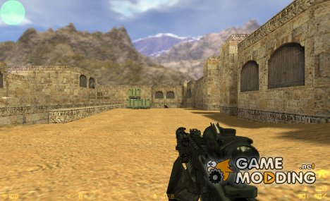 M4A1 + Acog + M203 By Sarqune for Counter-Strike 1.6