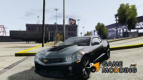 Chevrolet Camaro ZL1 2012 for GTA 4