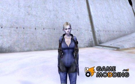 Jill боевой костюм for GTA San Andreas