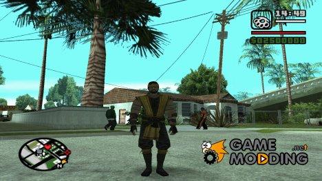 Хандзо Хасаши для GTA San Andreas