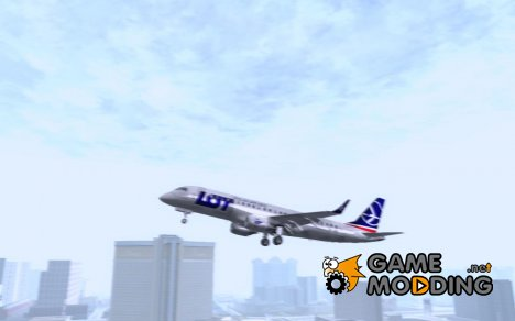 Embraer ERJ 190 LOT Polish Airlines for GTA San Andreas