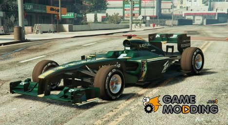 Lotus F1 for GTA 5