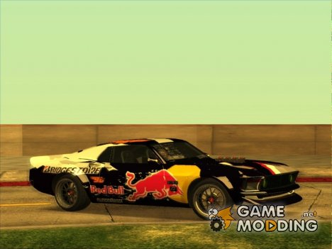 Ford Mustang RTR RedBull for GTA San Andreas