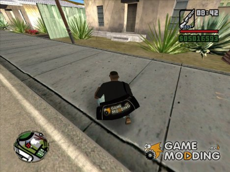 Сумка Gamemodding для GTA San Andreas