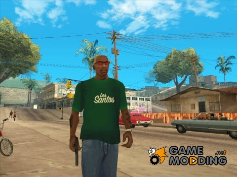 Футболка Лос-Сантос for GTA San Andreas
