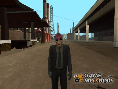 Hoxton  from Payday 2 для GTA San Andreas