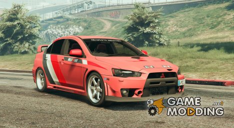 2010 Mitsubishi Lancer EVO X FQ-400 v1.2 for GTA 5