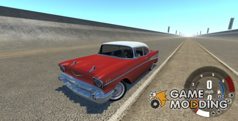 Chevrolet Bel Air Coupe 1957 for BeamNG.Drive