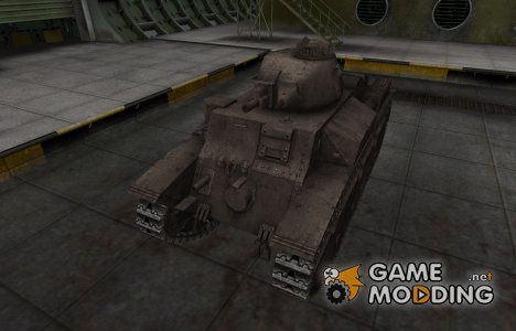Перекрашенный французкий скин для D2 для World of Tanks
