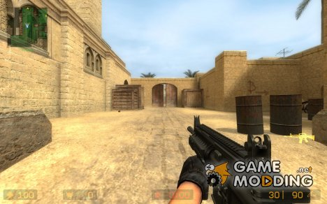 Lama's M4 SIRS: Book's Anims для Counter-Strike Source