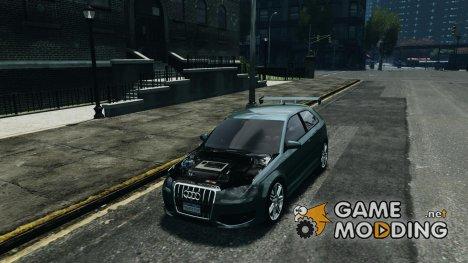 Audi S3 2006 v1.1 тонированая для GTA 4