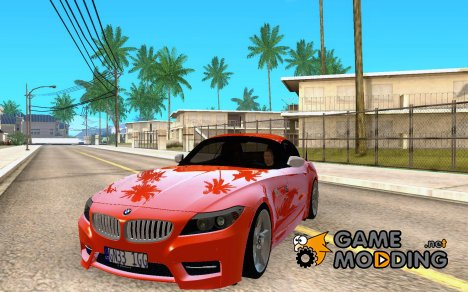 BMW Z4 Stock 2010 for GTA San Andreas