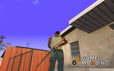 Новая анимация смены оружия  для GTA San Andreas