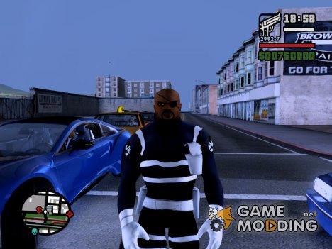 Nick Fury для GTA San Andreas