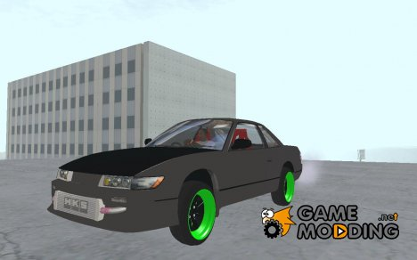 Nissan Silvia S13 Without TJD Sticker для GTA San Andreas