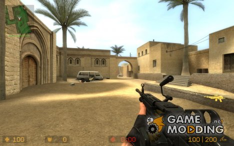 Default M249 dynamic retexture for Counter-Strike Source