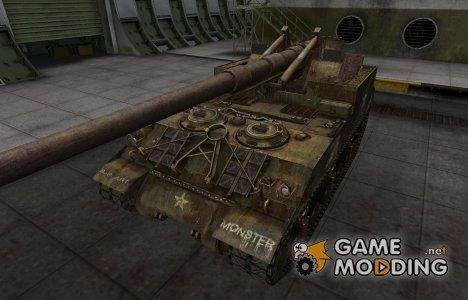 Исторический камуфляж M40/M43 для World of Tanks