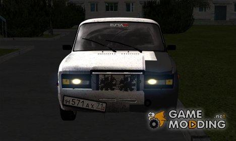 "Ваз 2107 ""БПАN"" для GTA San Andreas"