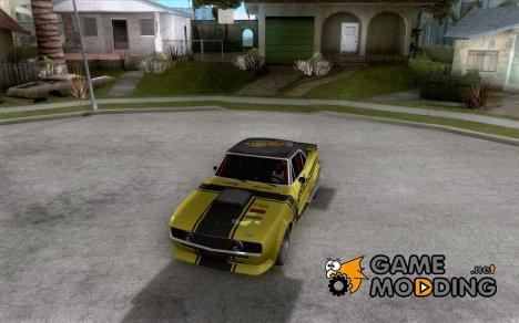 Chevrolet Camaro SS Dragger для GTA San Andreas