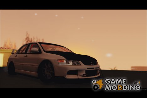 Mitsubishi Lancer Evolution IX Tuned для GTA San Andreas