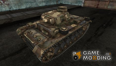PzKpfw III wagnerr for World of Tanks