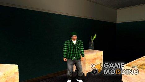 Новый fam2 HD для GTA San Andreas
