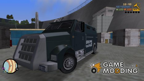 Security car HD для GTA 3
