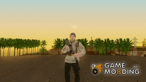 COD BO Russian Soldier v1 for GTA San Andreas