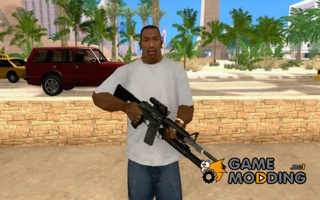 M4A1 Full Custom for GTA San Andreas