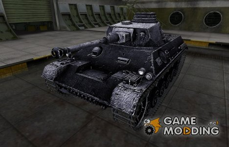 Темный скин для PzKpfw III/IV for World of Tanks