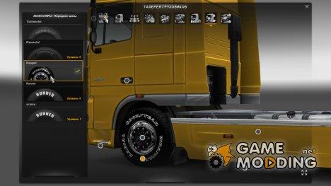 3D колёса-Ohaha для Euro Truck Simulator 2