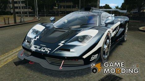 McLaren F1 ELITE Police [ELS] для GTA 4
