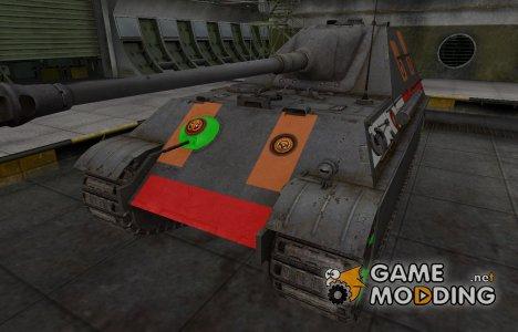 Качественный скин для Jagdpanther II for World of Tanks
