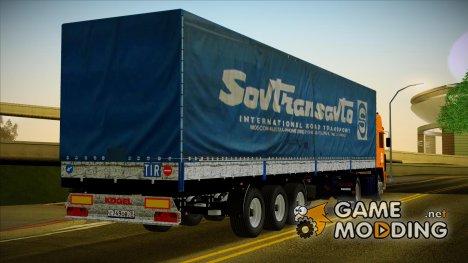 Прицеп Kogel SovTransavto 24 для GTA San Andreas