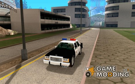 Ford LTD Crown Victoria Police 1985 для GTA San Andreas
