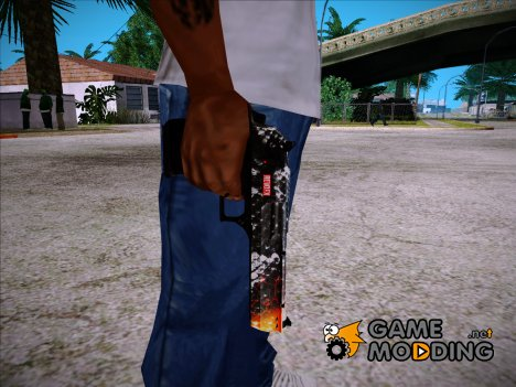 Kill Em All Desert Eagle для GTA San Andreas
