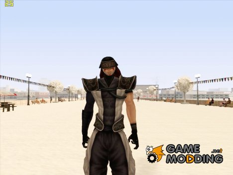 Fuuma Kotaro (Samurai Warriors) для GTA San Andreas