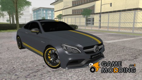 Mercedes-Benz C63S AMG Coupe 2016 Edition 1 for GTA San Andreas