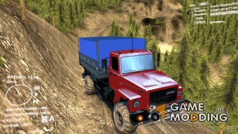 ГАЗ 2506 с тентом для Spintires DEMO 2013